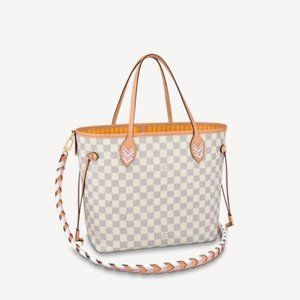 LOUIS VUITTON NEVERFULL MM WITH STRAP